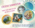 Summer Holiday Cwmbran Activity Pottery Painting